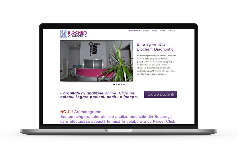 Creare site web Bucuresti - Biochem