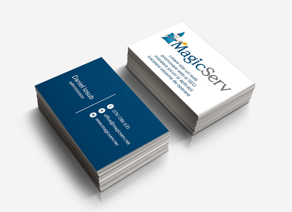 Identitate vizuala - Branding - Naming - Rebranding - Mape de prezentare - Foi cu antet - Plicuri personalizate - Design Logo - Design carti de vizita