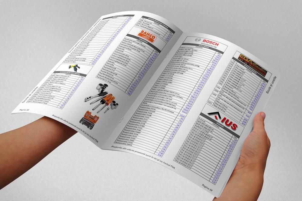 Cataloage - Catalog de produse - Design cataloage de produse - Cataloage online
