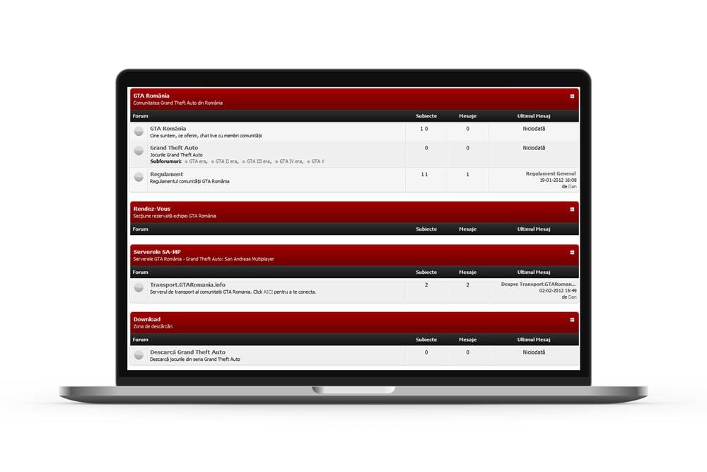 Creare blog - Creare forum - Creare portal web