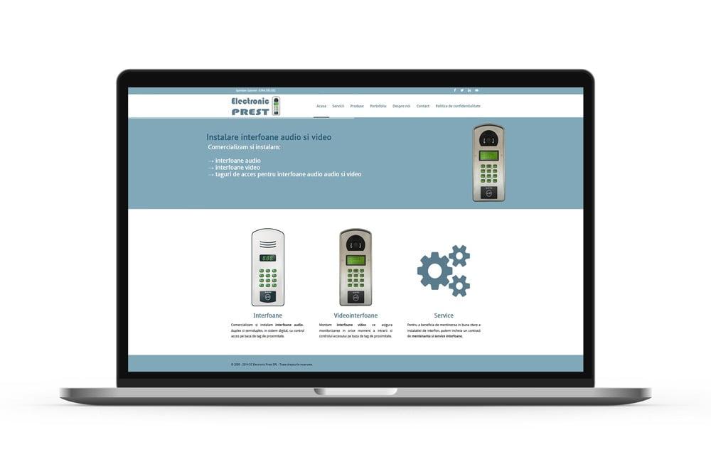 Creare magazin online interfoane