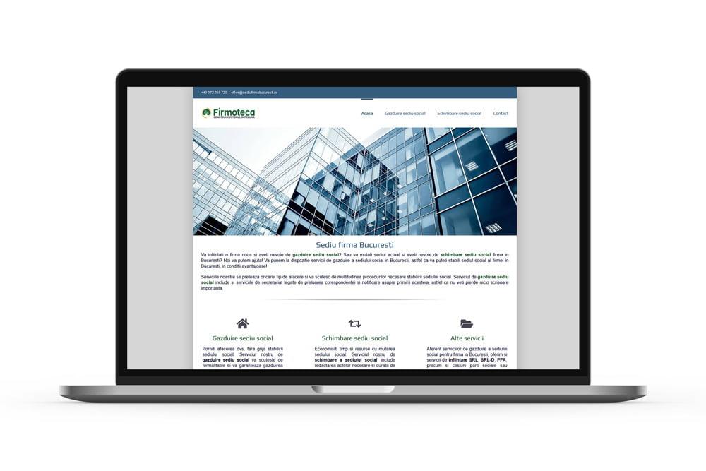Design web - Sediu firma Bucuresti