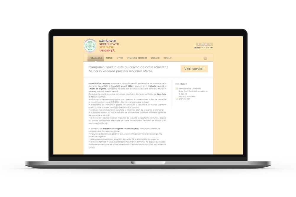 Creare site servicii SSM - sanatatesecuritatemuncasu