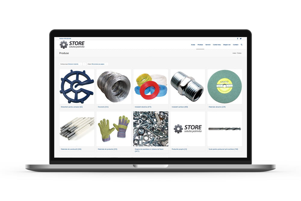 Realizare magazin online - STOREINC