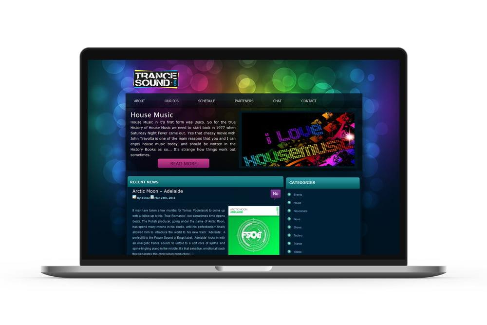 Realizare portal online cu stiri din lumea muzicii electronice - TranceSound