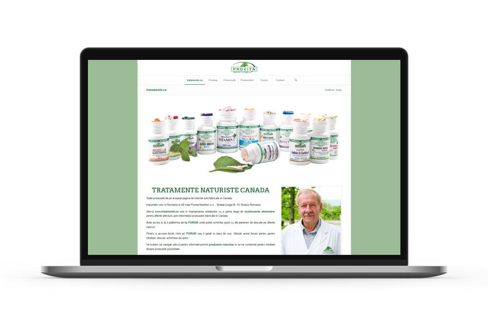 Dezvoltare magazin virtual - Tratamente