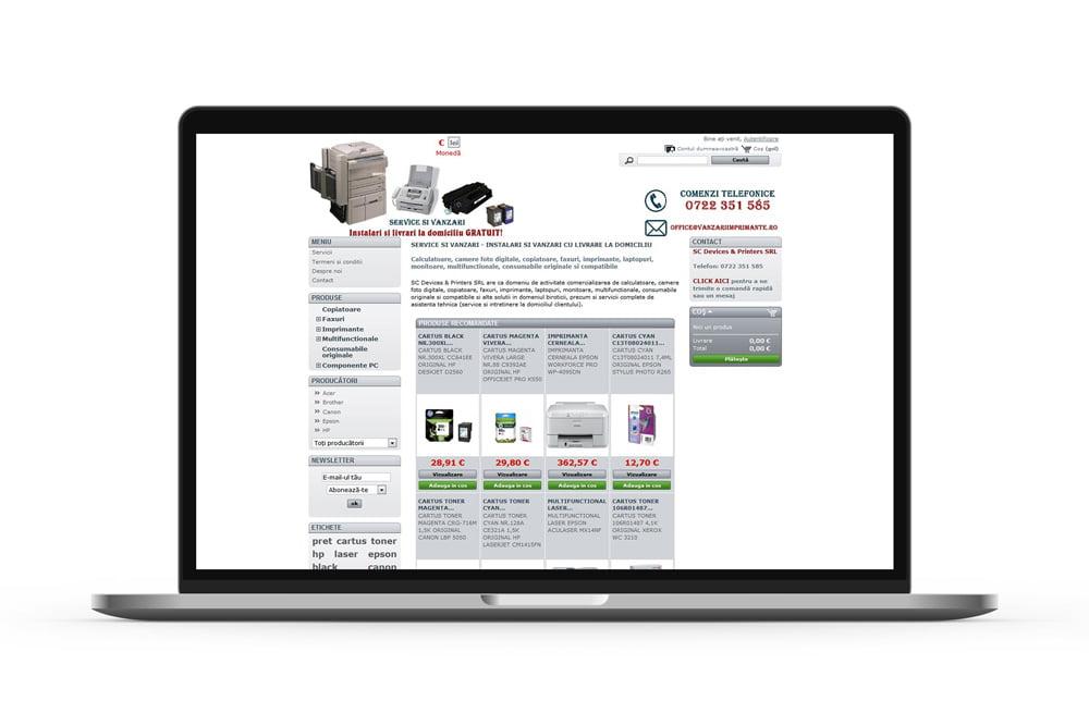 Magazin online la cheie - Vanzari Imprimante